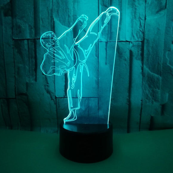 3D Light Karate