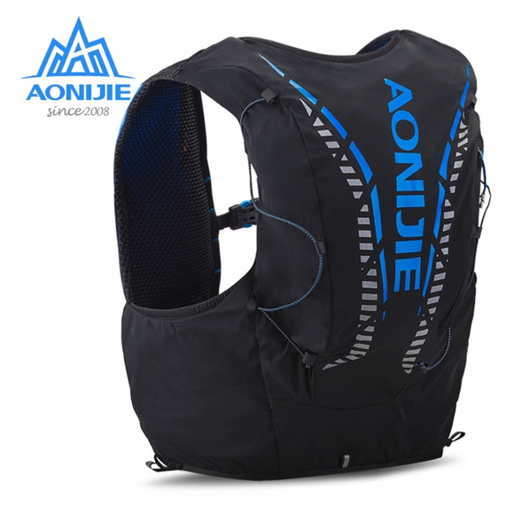 AONIJIE C962 Running Hydration Backpack Pack Bag Vest Soft Water Bladder Flask