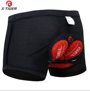 Ciclismo Cycling base layer Underwear Pro 5D Gel Pad Cycling Badana Bicycle