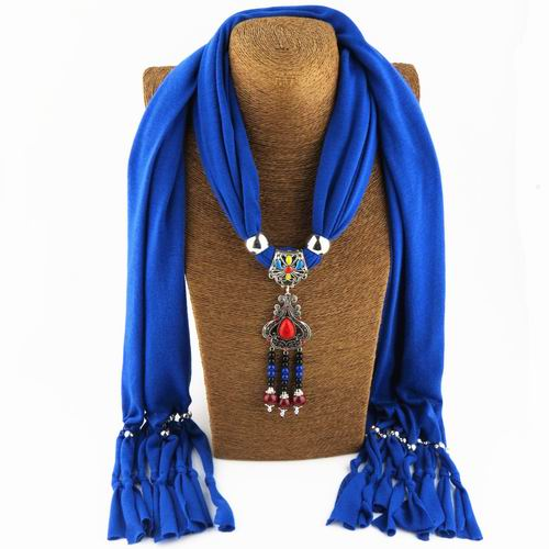 2018 Bijoux Fashion Ethnic Necklace For Women Multicolor ceramic Beads