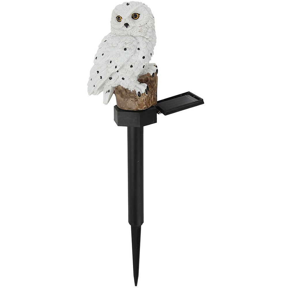 Decor Sculpture Novelty Solar Garden Lights Owl Solar LED Lawn Lights Outdoor Lawn/Path/Street/Underground Light Ornament LED