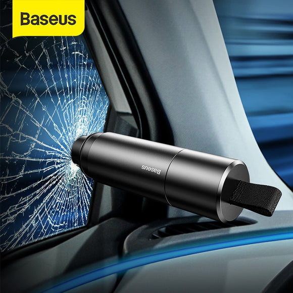 Baseus Car Safety Hammer Auto Emergency Glass Breaker Window Seat Belt Cutter
