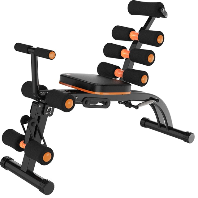 Abdominal Trainer Sit Up Bench Abs & Core Exercise Chair with Foam Roller Handles, Fitness Workout Machine