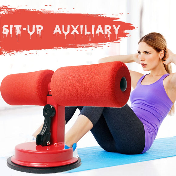 4 Colors Sit-Ups Abdominal Exercise Adjustable Assistant Equipment Suction cup