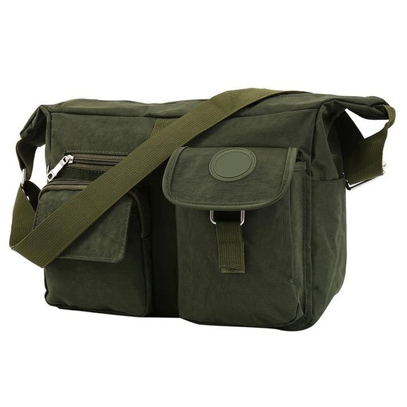 Men Women Canvas Manbag Messenger Bag Satchel Shoulder Handbag School Bag