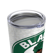 Load image into Gallery viewer, Black Coffee Sugar No Cream Custom Stainless Steel Tumbler w/Name