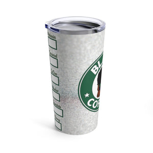 Black Coffee No Sugar No Cream Custom Stainless Steel Tumbler w/Name
