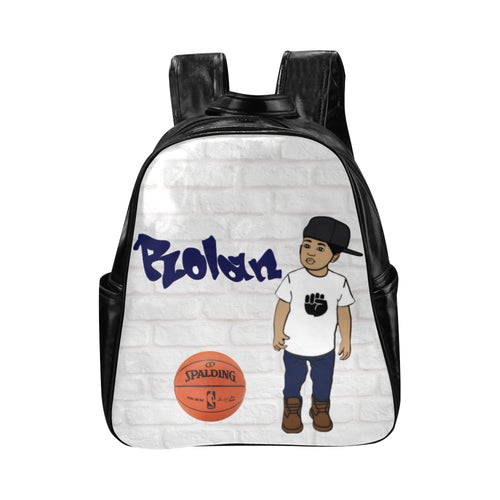 Shooting Hoops Custom Multi-Pocket Backpack