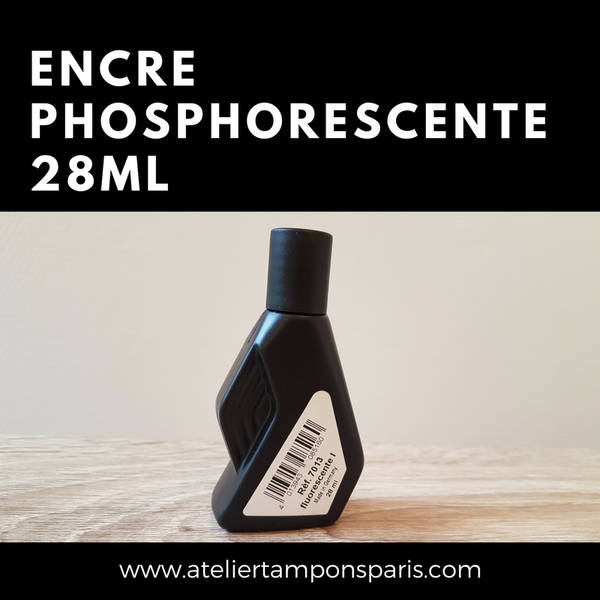Encre UV transparente phosphorescente 25 mL noris 110
