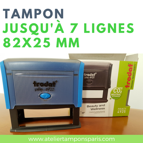 tampon encreur automatique trodat printy 4925 dimension 82x25 mm