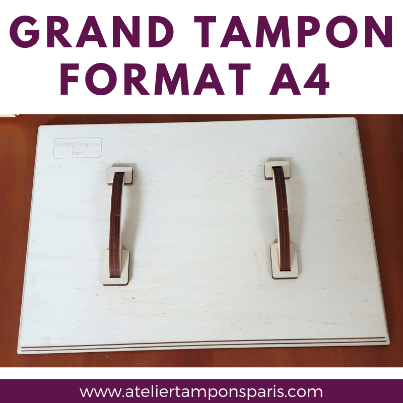 grand tampon 200 x 280 mm a4