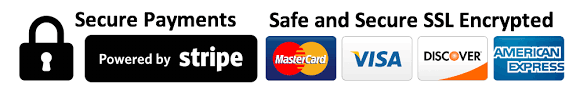 secure payments safe and secure ssl encrypted