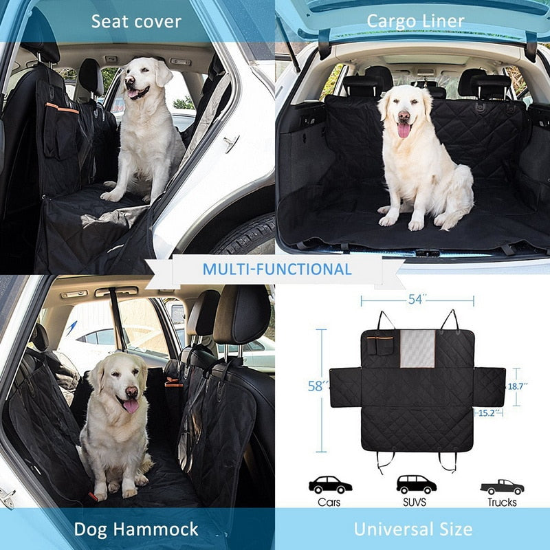 Car Seat Cover Dog Car Mat Waterproof