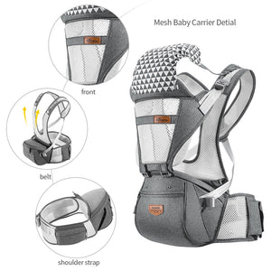 SUNVENO Ergonomic Baby Carrier