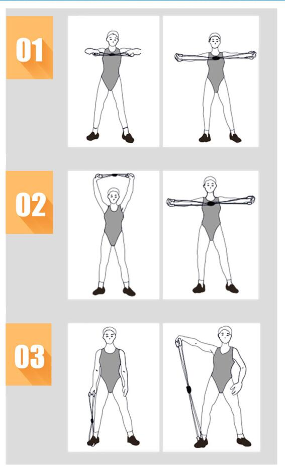 Yoga Resistance Bands for Sports Exercise