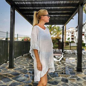 Long Sleeved Beach Dress