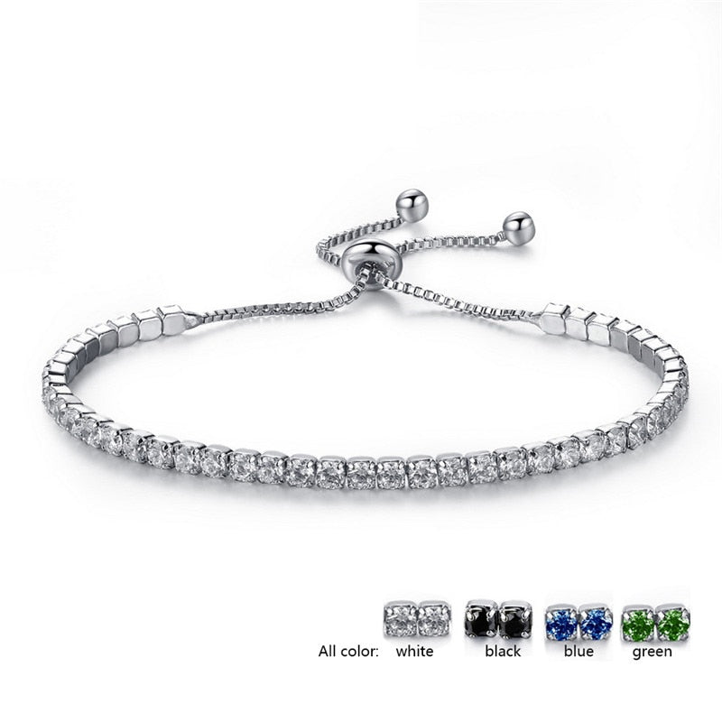 Adjustable Tennis Bracelets