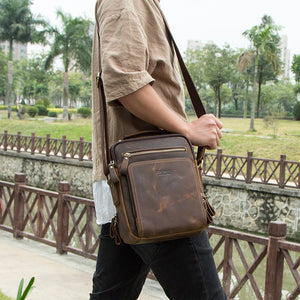 Vintage Leather Shoulder Bag