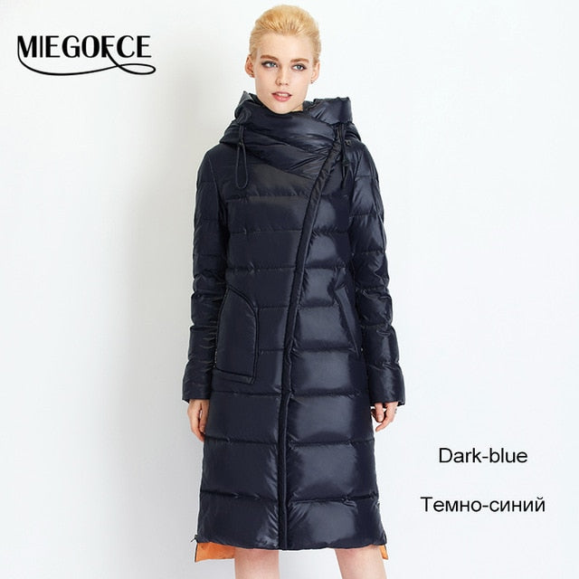 MIEGOFCE 2019 Fashionable Bio Fluff Coat