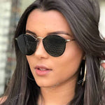 Luxury Round Women's Sunglasses
