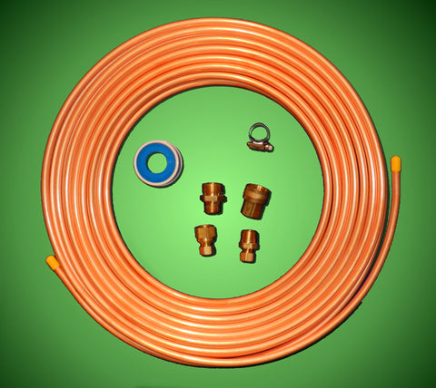 "DIY 3/8"" Copper Chiller Kit - Compression Fittings"