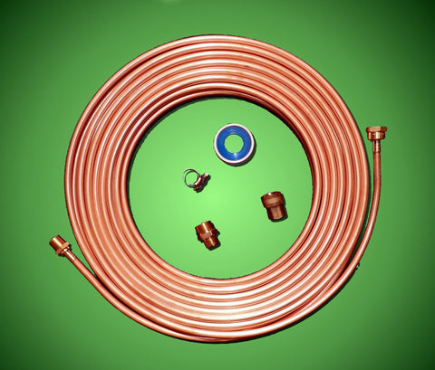 "DIY 1/2"" Copper Chiller Kit - Pre-Soldered Fittings"