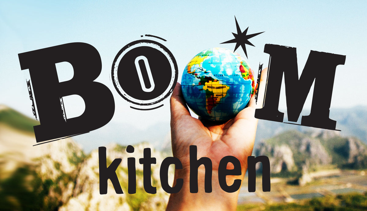 Boom Kitchen now offer international shipping on all curry and recipe kits