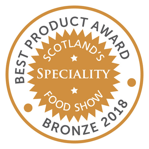 Best product award at Scotland Speciality Food Show