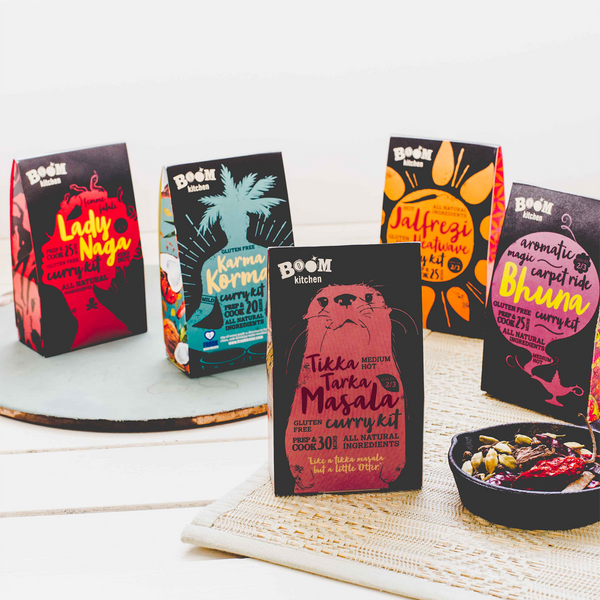Corporate Gifts Curry Kits from Boom Kitchen