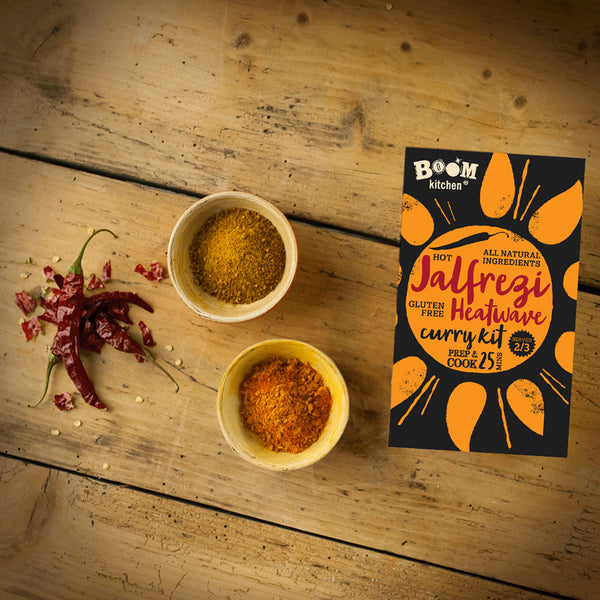 What's inside a Jalfrezi Heatwave Curry Recipe Kit