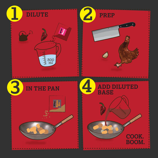 Lady Naga Curry Recipe Kit Illustrated Cooking Instructions