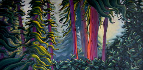 Within the Mighty Redwoods by artist Grant Pecoff