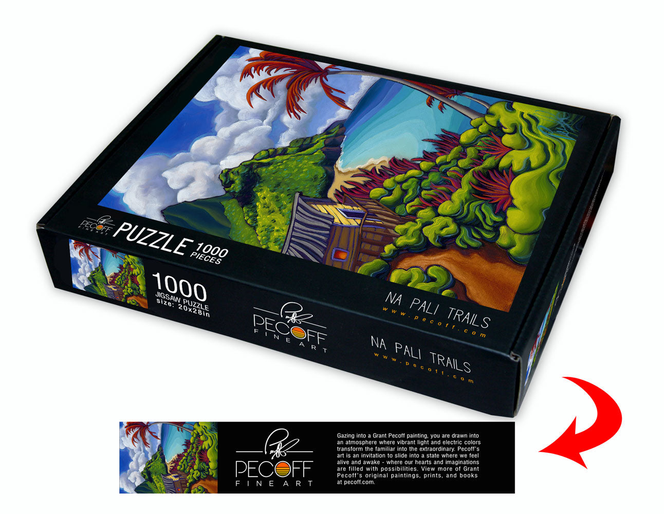 Na Pali Trails Puzzle