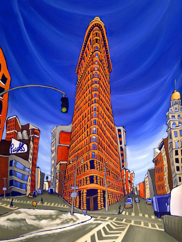 Flatiron in Orange