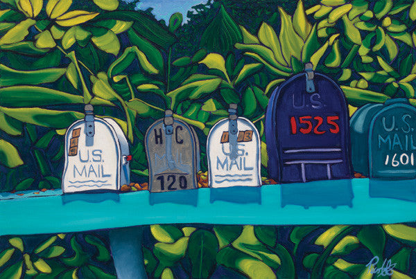 Jungle Mail Perfect Giclee on Metal
