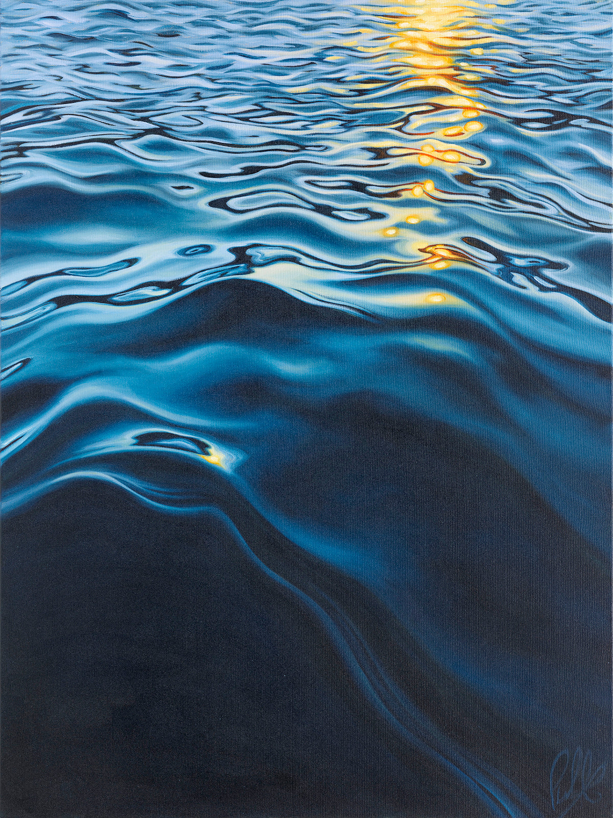 Sunlight Dancing on the Water