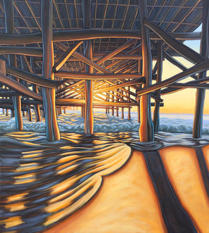 Sunset on Crystal Pier Puzzle