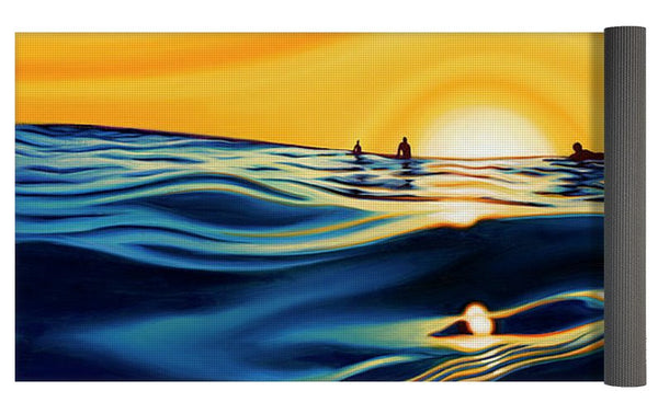 Sunset Glass - Yoga Mat