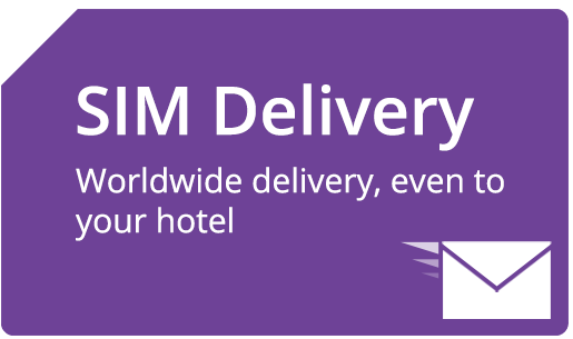 Worldwide SIM Card Delivery
