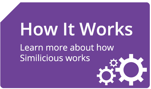 How It Works. Learn more about how Similicious works.