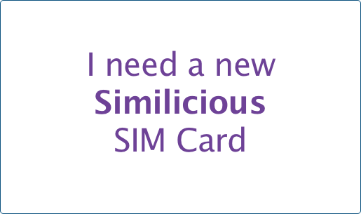 I already aave a SIM card