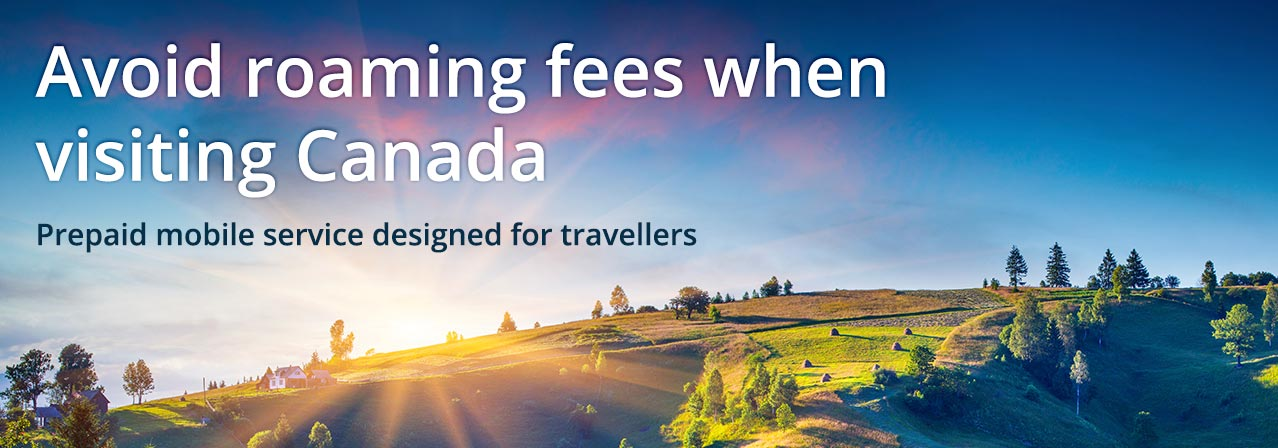 Prepaid Travel SIM Cards For Canada