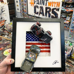 Large PopBangColour 'Re-Tyred' | American Ford F150's | BATCH 2