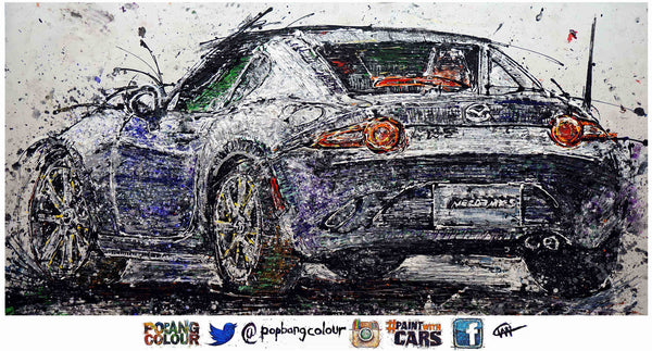 Mazda MX-5 RF - POPBANGCOLOUR Shop