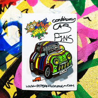 Limited edition classic Mini enamel pin badge - | 100  only