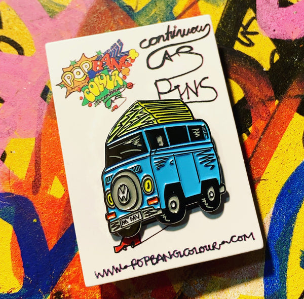 "Limited edition VW T2 Camper ""Maxine"" enamel pin badge - 