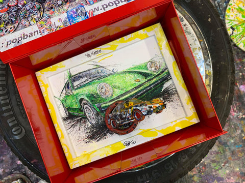 Medium PopBangColour 'Re-Tyred' | Porsche Carrera RS  | BATCH 2