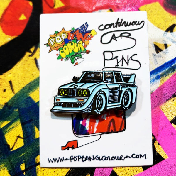 Enamel pin badge | Limited edition | Classic BMW E30  - | 100 only