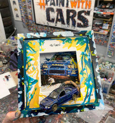 Large PopBangColour 'Re-Tyred' | Subaru Impreza Bugeye - 'Left over crest' | BATCH 2