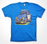 VW  'Baloo the Beetle'' #ContinuousCar Unisex T-shirt